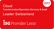 Cloud Leader in der ISG Provider Lens
